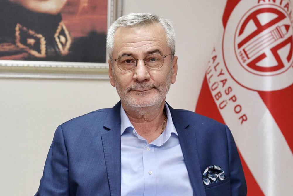 Antalyaspor Başkanı Mustafa Yılmaz (2021)