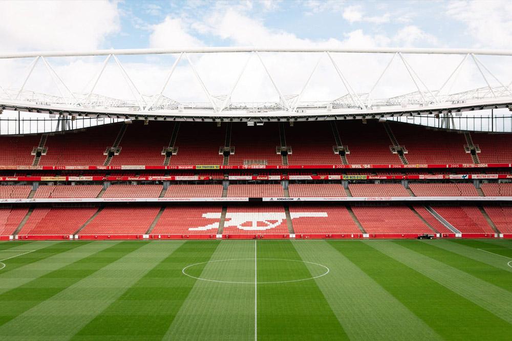 Arsenal' Emirastes Stadı: Stattan bir görüntü..