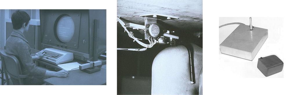 İlk Bilgisayar Faresinin (Mouse) Resmi