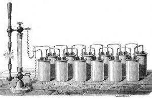İlk Elektrik Lambası.
