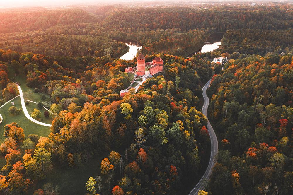 Letonya'dan Doğa Manzarası